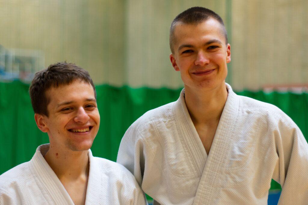 Jacek and Piotr